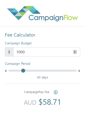 Campaign Flow Fee Calculator
